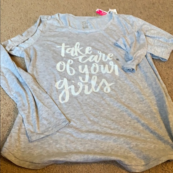 aerie Tops - Aerie long sleeve graphic tee - size XL